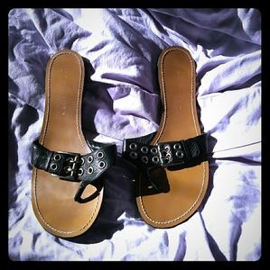 NWOB Marc Fisher Studded Sandals in 11M